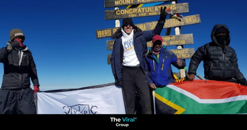 JP; from near-death crash to Kilimanjaro in 15 months
