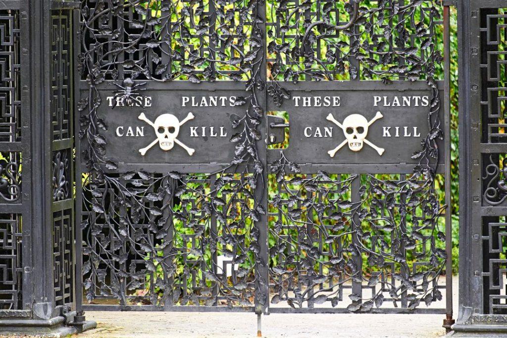 deadliest garden